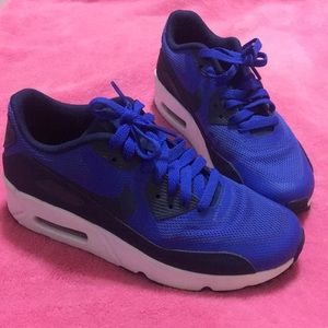 Nike air max in royal blue